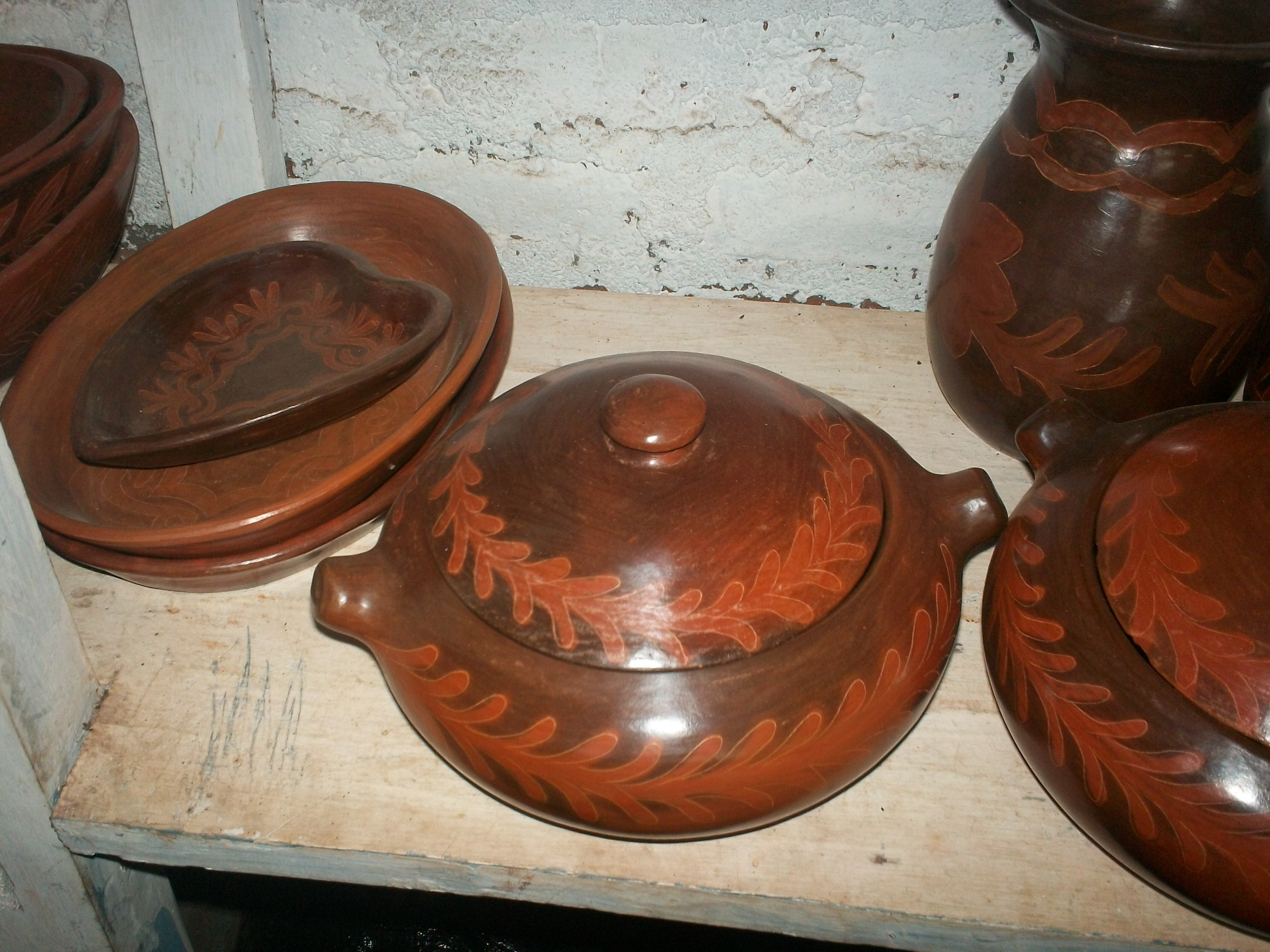 Pottery at Ducuale
